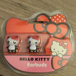 Hello Kitty ear buds